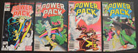 POWER PACK (4-BOOK) Comic LOT with HOLIDAY SPECIAL #1 2 3 4 (1984-1992   Marvel)