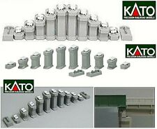 Kato 23-016 Set N.12 Scale Inclined Height da Mm.15 a 50 Con Holders Ladder-N