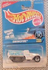 Hot Wheels Snow Patrol Snowbound Tracker Swingfire Mattel #16299 Coll#492 NIB