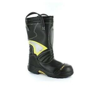 """Globe Structural 14"""" Pull-On Firefighting Boots Mens 8 XW"""