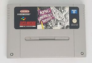 The King Arthur's World SNES Super Nintendo retro game PAL - fully working