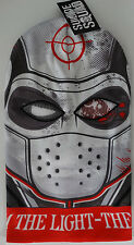 Suicide Squad Deadshot Sublimated Ski Mask Eye Holes Knit Hat Nwt