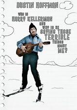 WHO IS HARRY KELLERMAN  DUSTIN HOFFMAN JACK WARDEN NEW SEALED DVD 2014 DVD