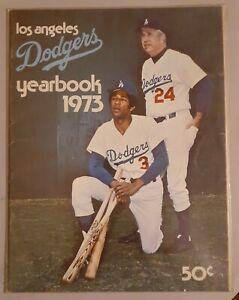 VINTAGE 1973 LOS ANGELES DODGERS OFFICIAL BASEBALL YEARBOOK - STEVE GARVEY