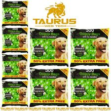 More details for 2400 x doggy bags scented dog cat puppy pet poo waste easy tie d scooper poop uk