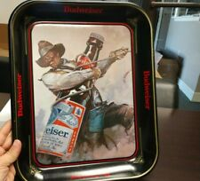 Budweiser Vintage Large Collector Tray Official Product