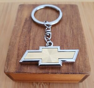 CHEVROLET CHEVY STAINLESS STEEL KEYRING KEYCHAIN