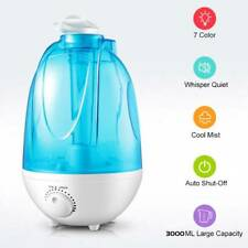 Details about 4L LED Ultrasonic Aromatherapy Essential Oil Diffuser Fountain Air Humidifier