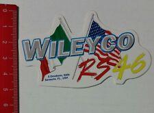 Aufkleber/Sticker: Wileyco RS 46 (040217120)
