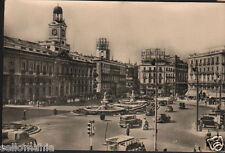 ANTIGUA POSTAL MADRID PUERTA DEL SOL OLD POSTCARD POSTKARTE              CC01058