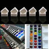 Empty Watercolor Paint Case Palettes Box Outdoors Painting Art Storage Case Box