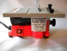 """4"""" MINI ELECTRIC TABLE SAW TABLESAW GREAT FOR HOBBY OR CRAFT Mighty-Might"""