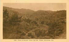 C-1910 Marin County California 2nd Valley Mt Vision Inverness Mitchell 732