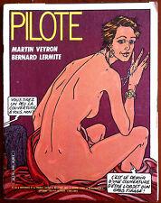 PILOTE n°90 du 11/1981; Martin Veyron, Bernard Lermite