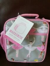 1 Pottery Barn Kids Ballerina Lunch box bag Girl Pink Gray