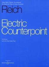 REICH Chitarra Elettrica contrappunto punteggio & parte