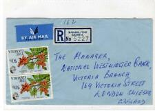 GAMBIA: 1977 Registered Air Mail cover to London (C50488)