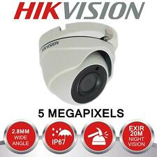 HIKVISION 2K 5MP CCTV Camera 4in1 Video TVI CVI AHD 20M EXIR Dome IP66 Day/Night