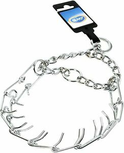 Pet Dog Choke Chain Necklace Choker Collar Strong Stainless Steel Training Duvo