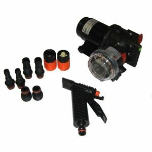 """Johnson Pump 10-13407-07 Washdown Kit 70 Psi 5.2 Gpm 1/2"""" Or 3/8"""" 12V Aqua Jet"""