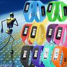 LCD Digital Pedometer Calorie Counter Run Step Walking Distance Sport Wristwatch