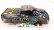 Savage Mini XS Vaugh Gittin BODY Shell Cover Decals Flux F-150 SVT Raptor 115125