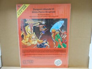 TSR AD&D S2 White Plume Mountain Orange Cover NEW & SEALED!