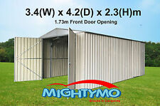 Garden Shed 2.5x4.2m Large Steel Shed, Storage, Workshop, Yard Sheds