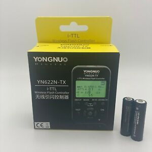 Youngnuo YN-622N-TX i-TTL Wireless Flash Controller for Nikon 2x Free AA Battery