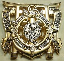 Afloat Training Group Western Pacific CPO Chiefs Mess Navy Challenge Coin