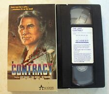 VHS: The Last Contract: Academy: Jack Palance rare