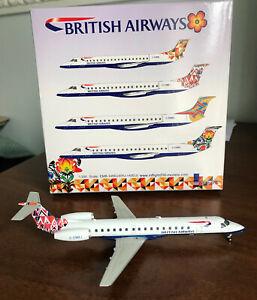 Inflight 200 1:200 British Airways Germany Tail EMB ERJ 145 EU G-EMBJ Geminijets