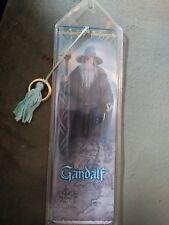Lotr Fellowship of the Ring Gandalf Tasseled Bookmark w/Ring-2001 w/ bonus!