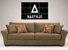 """BASTILLE MOSAIC TILE 35""""X25"""" INCH LARGE WALL POSTER DAN SMITH"""