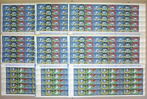 90 x Rumänien 1960 Mi. 1853-57 A** MNH Olympiade ROM Olympic Games 1170,- €  /1x