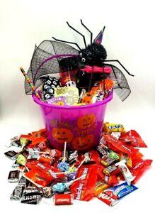 Halloween Candy Arrangement Halloween socks & Candy Gifts Treats gift basket 🎃