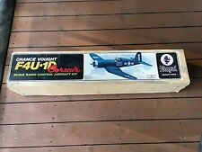 Royal Quality Chance Vought F4U-1D Corsair Balsa Model Airplane Kit