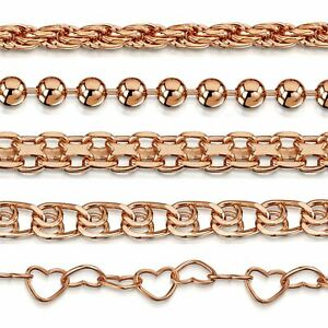 Amberta Genuine Rose Gold Plated Bracelet 925 Sterling Silver Bangle Italy