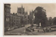 Bristol, Cathedral, Queen Victoria Statue College Green RP Postcard, B143