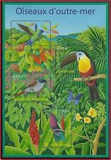 2003 FRANCE Bloc F4406** Bf  Oiseaux d'Outre-mer, France 2003 Birds Sheet MNH