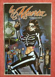 La Muerta #1 Descent Incentive Bones Edition Coffin Comics Ceci De La Cruz Cover