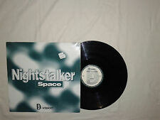 "Nightstalker ‎– Space - Disco 12"" MAXI 33 Giri  Vinile ITALIA 1995 Tech House"