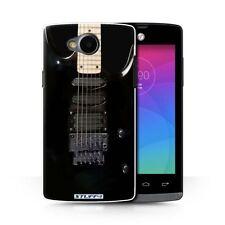 Fundas y carcasas Para LG K4 de plástico de color principal negro para teléfonos móviles y PDAs