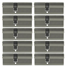 2 -10x Profile Cylinder 2 3/4in 30/40 Door Cylinder Lock Keyed Alike