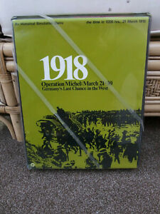 1918 OPERATION MICHEL March 21-30  Simulations Publications 1972 2nd Edition