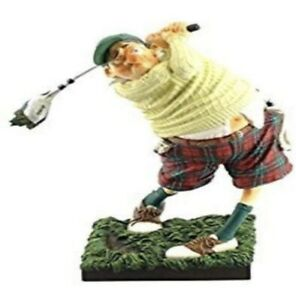 Guillermo Forchino Fore! The Golfer Figure