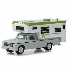 1966 Dodge D-100 with Winnebago Slide-In Camper
