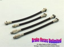 BRAKE HOSE SET Lincoln Continental Mark III 1958 Early - Before build 1-3-1958