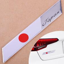 3D Car Auto Motorcycle Japan Japanese Flag Emblem Metal Badge Decal Sticker Trim