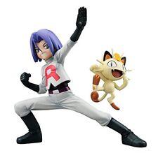 MegaHouse Pokemon James & Meowth Gem PVC Figure Japan IMPORT